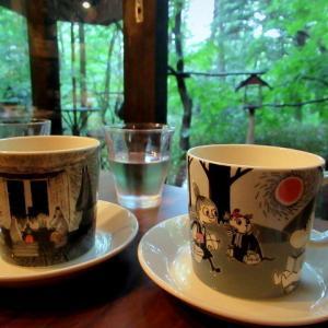 自家焙煎珈琲・NONE Cafe * 湯川沿いの緑のテラスが魅力のカフェ♪
