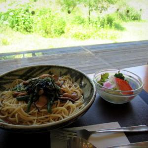中之条 山の上庭園② * 館内レストランのランチ♪