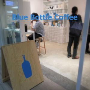 BLUE BOTTLE COFFEE/ブルーボトルコーヒー * 7月にオープンした恵比寿カフェ♪