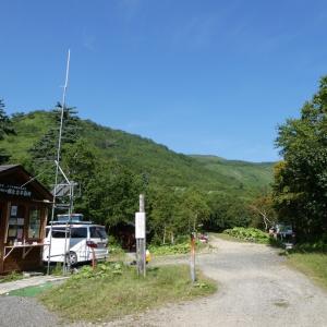 赤岳から白雲岳 避難小屋1泊①