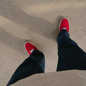 赤い靴 はーいてたー♪