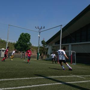 夏サッカー