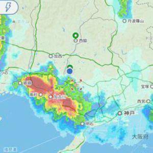 加古川集中豪雨