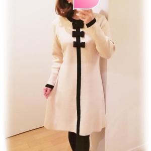 冬のフェミニンホワイト♡リラックスニットワンピース&Annette
