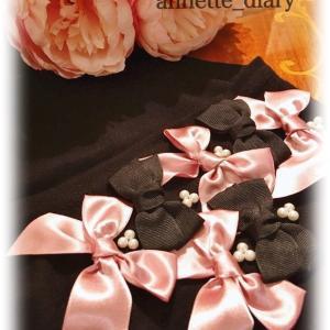 バレンタインシリーズ♡ブラック&ピンクリボン