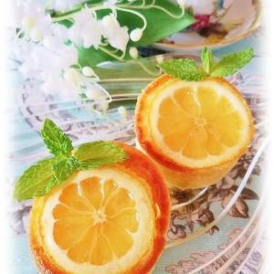 レモンのマフィン♡ハニーレモネード