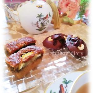 午後のティータイム♡米粉の紅茶ケーキ&チョコレートマドレーヌ
