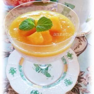 フルーツ杏仁豆腐&ミルクの香り♡緑茶&グリーンルイボス