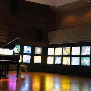 音降りそそぐ武蔵ホールで、ピアノを弾いてきました♪