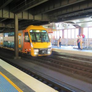 シドニーの電車「シティーレール」@Sydney旅行記19