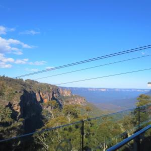 眺めの良いカフェランチ@Sydney旅行記29