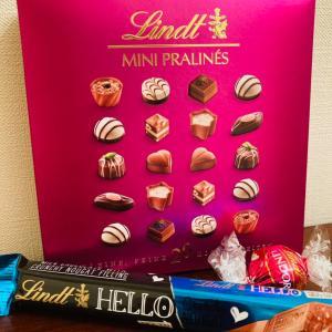 「Lindt(リンツ)」プラリネ・リンドール・クランチバー ♪色々購入