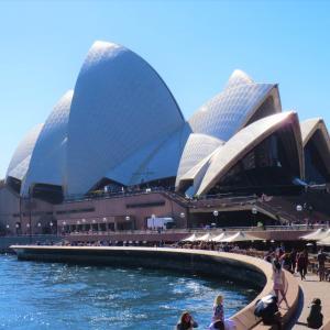 世界遺産「オペラハウス」@Sydney旅行記5