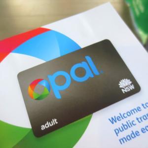 シドニー観光にお得なOPALカードを購入@Sydney旅行記12