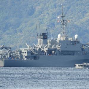 にちなん(5105)海洋観測艦・なぜ呉基地から出港?