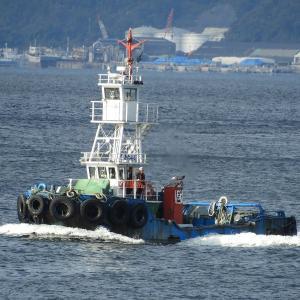 きたふじ・押船兼曳船(タグボート)呉港で見かけた船舶。