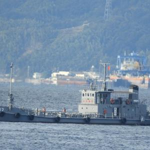 【YO-37・油船37号】海上自衛隊の第1種支援船。