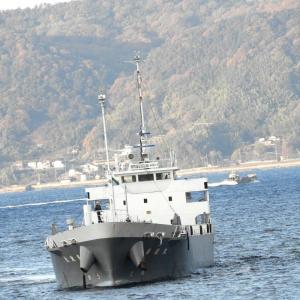 若波丸(一般貨物船) 呉港で見かけた貨物船