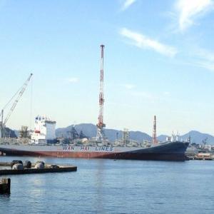 呉港の景色・スナップカメラで撮影。