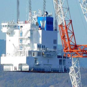 WAN HAI 328 春亮のブリッヂ(船橋)の海上輸送中・その2