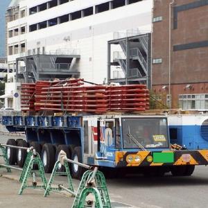 重量物輸送大型特殊車両 モジュール台車