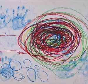 幼児の絵画からー表現(視点)の変化−2