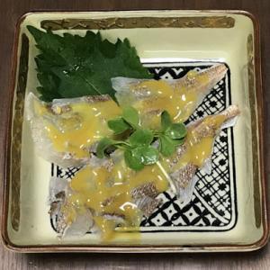 真鯛の酢味噌和え