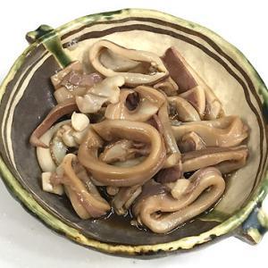 ケンサキイカの麺つゆ漬け