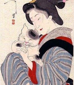 菊川英信  「近世風俗・艶姿百面相」