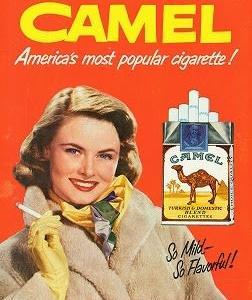 たばこのポスター Camel 1