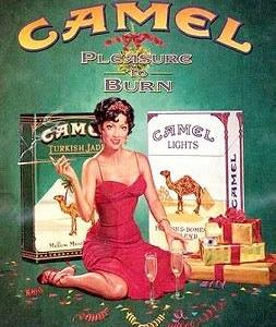 たばこのポスター Camel 2