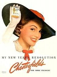 たばこのポスター Chesterfield 1