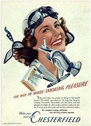 たばこのポスター Chesterfield 2