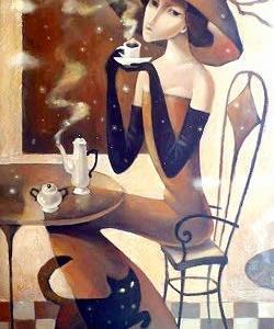 Coffee time KIRA PANINA   了