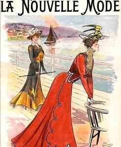 Magazine cover  La Nouvelle Mode
