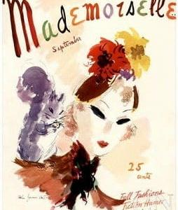 Magazine Cover Mademoiselle
