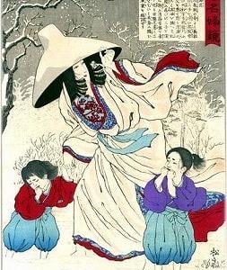 安達吟光 「古今名婦鏡」 1