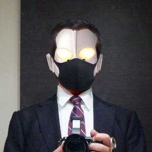 黒マスクデビュー