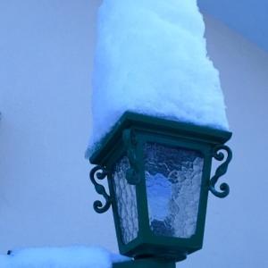 久々に雪かき