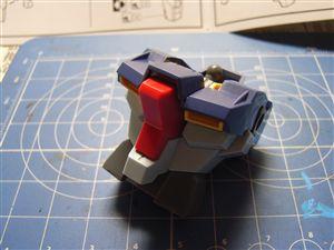 胸部、頭部組立!HGBF LGZ-91ライトニングガンダム製作記5