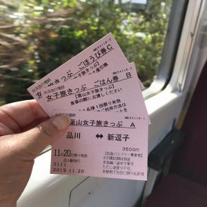 【ぶらり葉山女子旅…おトクな切符で日帰りの旅を満喫!】