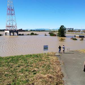調節地は大事。彩湖、首都圏外郭放水路、環七巨大地下調節地が威力を発揮
