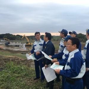 埼玉県議会公明党議員団が川越の被災地へ