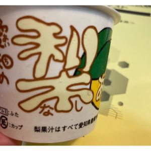 美味!「愛知の梨あいす」。