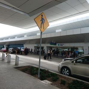 今カンクン国際空港にいます~ひとりカンクンの旅♪