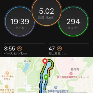 出しきった5km-3km-2km☆