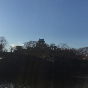 大阪城公園までジョギング♪