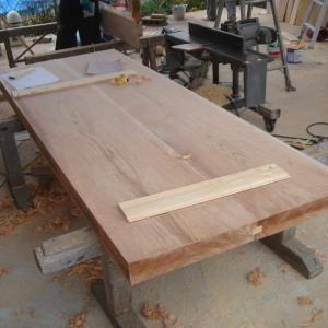 家具工事1/杉製ダイニングテーブル