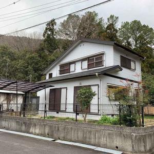 兵庫県 西脇市黒田庄町 JR本黒田駅から2.5km 3LDK 自然豊かで家庭菜園のある田舎暮らし 中古戸建