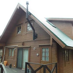 兵庫県 加東市平木 3LDK 北欧ログハウス風 薪ストーブ付き 田舎暮らし 中古戸建
